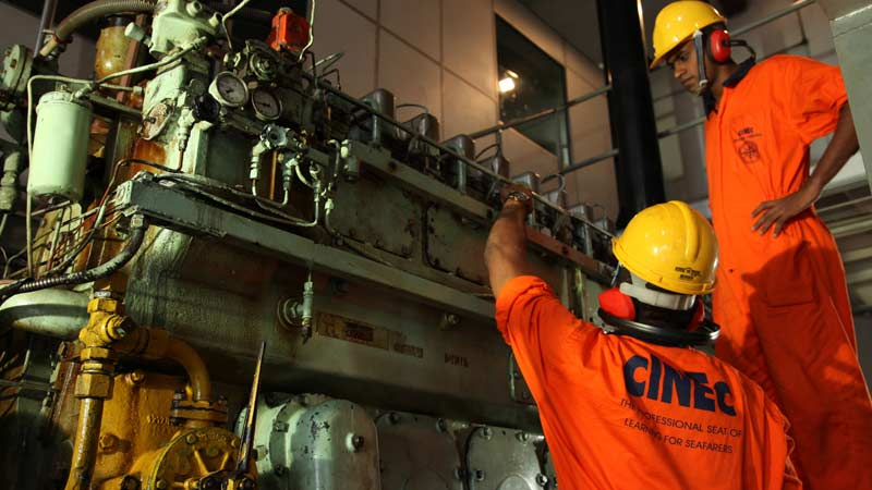 Marine Engineering Courses in Sri Lanka | CINEC Campus