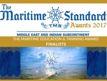 CINEC placed Finalist at the Maritime Standard Awards 2017 in Dubai for Education and Training