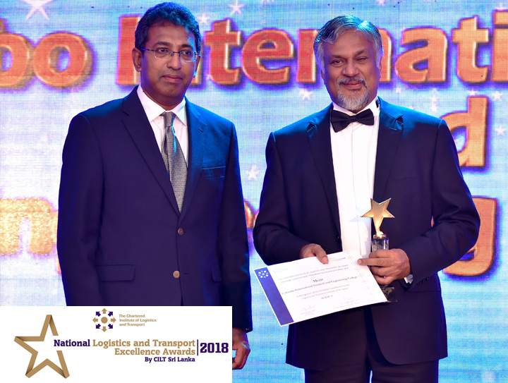 CINEC won a Merit Award in the first ever National Logistics and Transport Excellence Awards