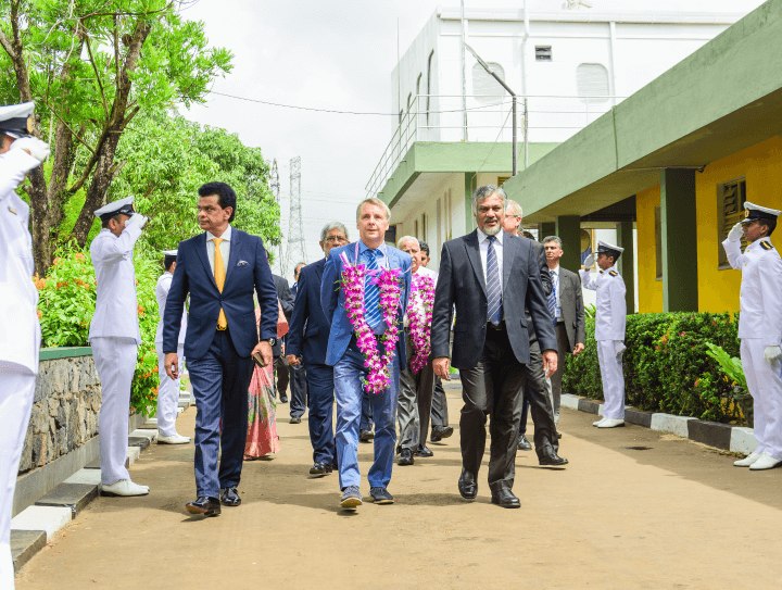 His Excellency Mr Jörn Rohde, Ambassador of Germany to Sri Lanka Visits CINEC Campus