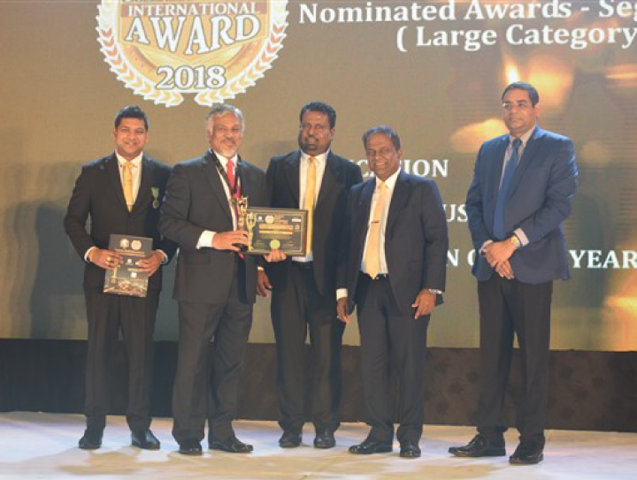CINEC Campus Wins Education Sector Business World International Awards