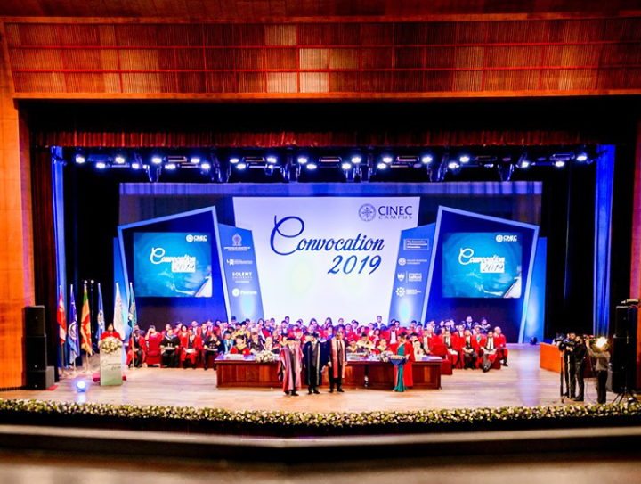 CINEC Campus holds 2019 Convocation for 450 Graduands