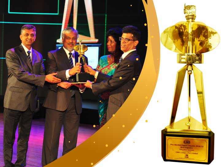 CINEC Shines at EDB's 23rd Presidential Export Awards Ceremony