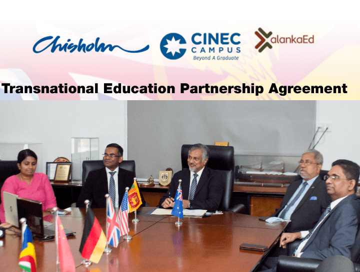 CINEC Campus Partners with Chisholm Institute Melbourne to Provide  Vocational Education and Training in Sri Lanka with Australian Qualification