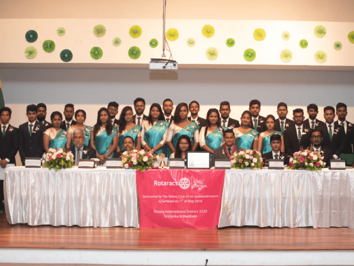 The 3rd Installation Ceremony of the Rotaract Club of CINEC