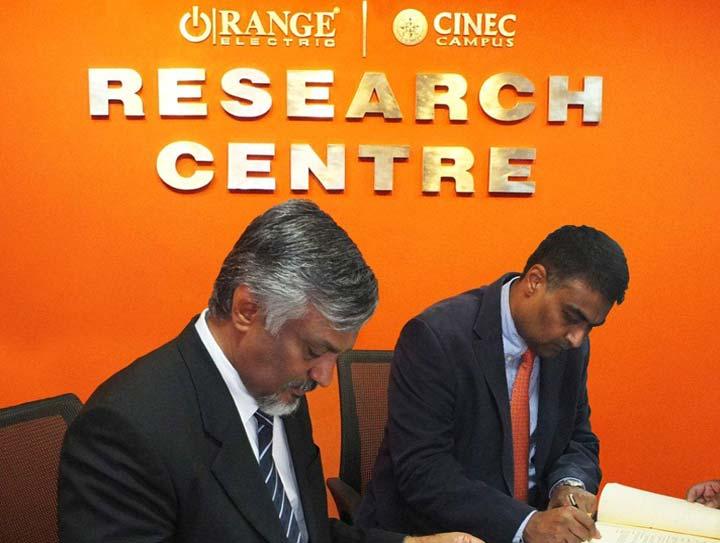 Orange-CINEC Collaborative Research Centre
