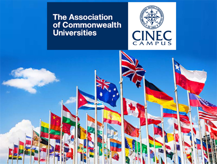 CINEC Campus Receives Membership of the Association of Commonwealth Universities (ACU)