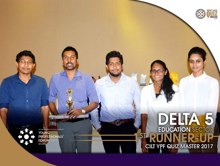 CINEC won 2nd place in CILT YPF quiz 2017